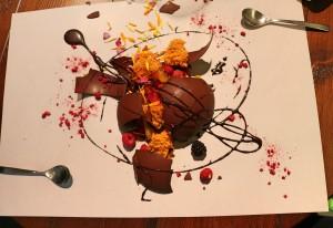 Acto VI - los postres Bomba de Chocolate