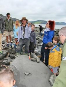 Jurassic Coast - Found a Fossil